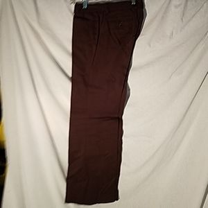Ladies Brown size 4 regular stretch pants